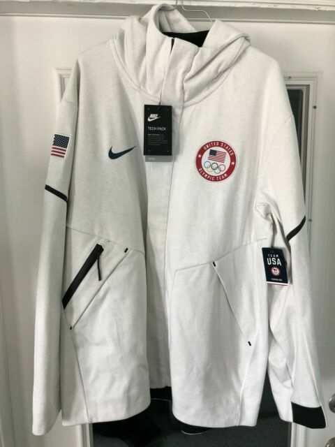 Embajada Disfrazado elemento  Nike Tech Fleece Windrunner Team USA Jacket Olympics Men's Sz XL 909530 100  for sale online | eBay