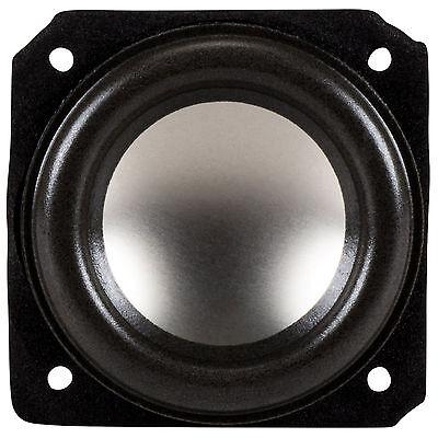 """NEW 2.3/"""" Woofer Speaker.Full Range Driver.8 ohm.Square Frame.2 1//3.two inch."""