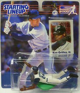 2000  KEN GRIFFEY JR. - Starting Lineup - SLU - Sports Figure - SEATTLE MARINERS