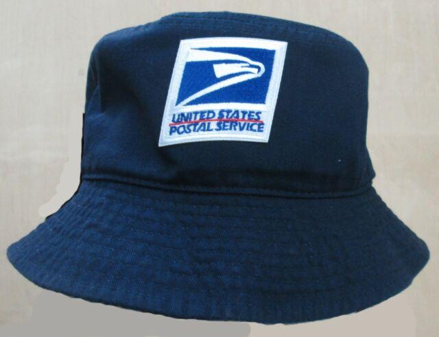 19d182920 USPS United States Postal Service Blue Bucket Hat S/M