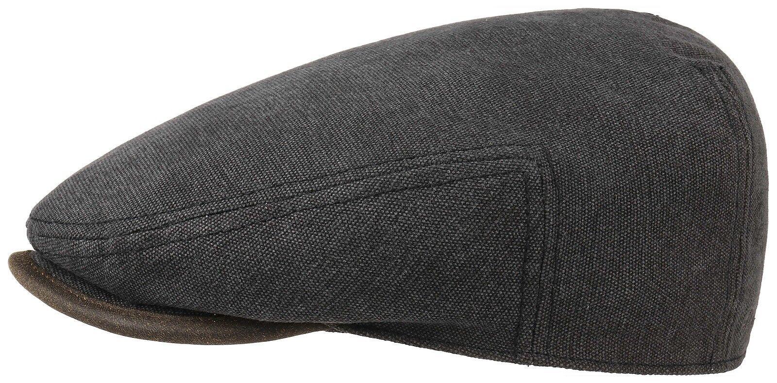 Stetson Sun Guard casquette schwarz plate CASQUETTE CHAPEAU Driver toile 1 schwarz casquette 080b87