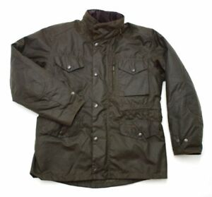 BARBOUR-SAPPER-Cerato-Giacca-in-Oliva