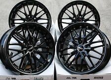 "18"" BLACK 190 ALLOY WHEELS FITS BMW E46 E90 E91 E92 E93 Z3 Z4 F30 F31 F32 F33 X3"