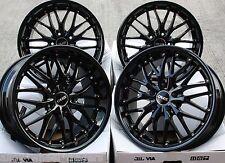 """18"""" BLACK 190 ALLOY WHEELS FITS BMW E46 E90 E91 E92 E93 Z3 Z4 F30 F31 F32 F33 X3"""