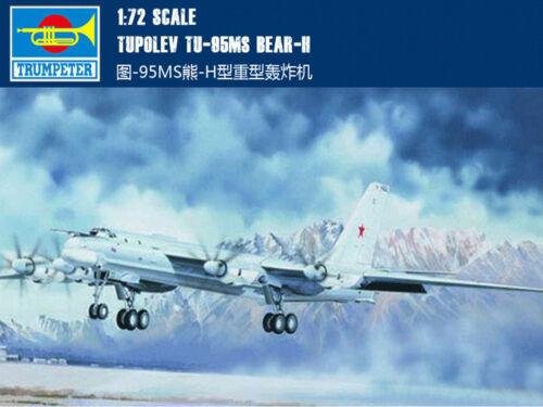 Trumpeter 1//72 01601 Tupolev Tu-95MS Bear-H