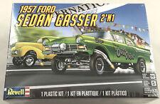 Revell 1957 Ford Sedan Gasser 2 in 1 1:25 scale plastic model car kit new 4478