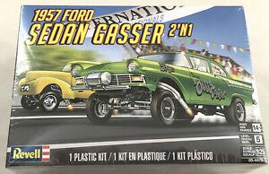 Revell-1957-Ford-Sedan-Gasser-2-in-1-1-25-scale-plastic-model-car-kit-new-4478