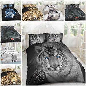 Duvet-Cover-Sets-3D-Animal-Print-Bedding-PillowCases-King-Size-Double-Single-New