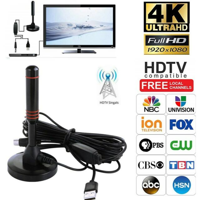 Premium Digital TV Signal Amplifier Booster for Cable Antenna Channel US New