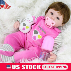 Realistic-Handmade-Baby-Girl-Doll-Newborn-Vinyl-Silicone-Alive-Reborn-Baby-Dolls
