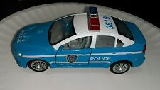 Fun Stuff Light Blue Pullback toy Car Police NV Nevada Force Cop Department toy