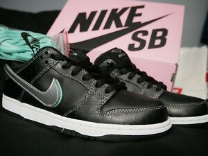 the best attitude 6bff6 f0f60 Image is loading Nike-SB-Dunk-Low-x-Diamond-Supply-Co-