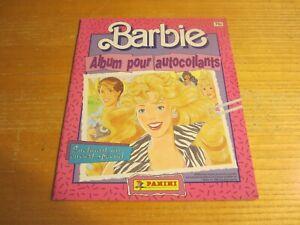 """Barbie 9""""X10.5"""" Panini French New Sticker Album NO STICKERS"""