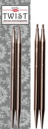 10cm Chiaogoo TWIST ROSSO PIZZO intercambiabili Needle TIPS lunghezza 4in