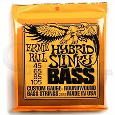 Ernie Ball 2833 Hybrid Slinky Bass Guitar Strings 45-105