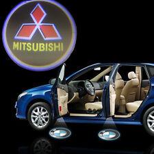 Mitsubishi Logo 7w Cree LED Ghost Shadow Door Light Laser Kit Pair Shogun Pajero