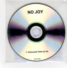 (GE592) No Joy, Hollywood Teeth - 2015 DJ CD