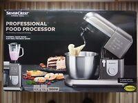 Silvercrest 1300w Professional Kitchen Machine Food Processor Mixer Blender