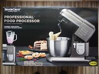 Silvercrest 1300w Professional Kitchen Machine Food Processor Mixer Blender