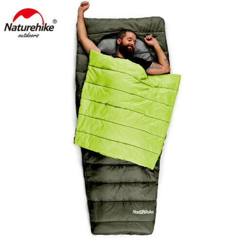 Naturehike Ultralight Schlafsack Baumwolle Lazy Bag für Wandern Camping Reisen