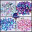 Acrylic-Crystal-Rhinestones-Pearls-Bead-Flat-Back-MIX-3-SIZES-Nail-Art-Gems thumbnail 1