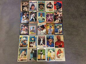 HALL OF FAME Baseball Card Lot 1961-2020 BABE RUTH GREG MADDUX MARIANO RIVERA