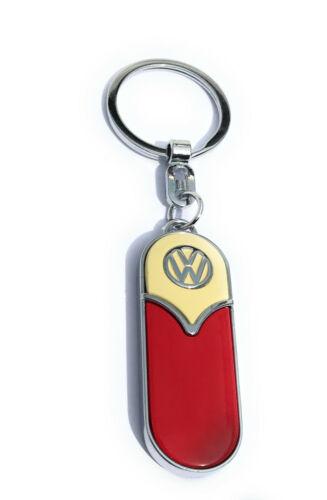 Volkswagen VW T1 Bulli Schlüsselanhänger Bus Bully Samba Schlüsselring Metall