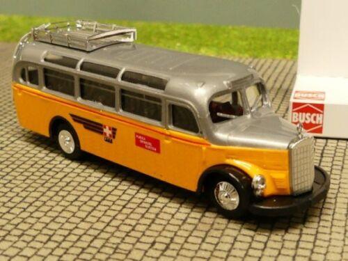 1//87 Busch MB O 3500 Schweizer Postbus 41035