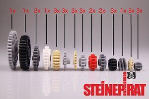 LEGO®  31 Stk. Zahnrad Sortiment (-NEU-) Zahnradset für Differential / Getriebe