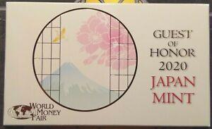 Japan-World-Money-Fair-2020-annual-set-WMF-Berlin-Berlijn-500-sets-silver-medal