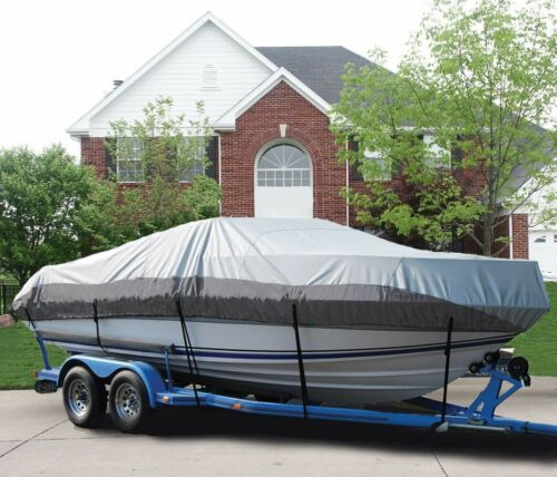 GREAT BOAT COVER FITS LUND 1775 PRO-V SIDE CONSOLE PTM O//B 1993-1998