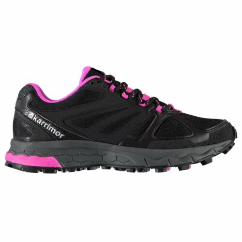 Karrimor Tempo 5 Trail Running Shoes Ladies Laces Fastened Ventilated Padded