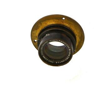 Vintage-Carl-Zeiss-Jena-19-5cm-f-6-8-Doppel-Amatar-Barrel-Lens-UG