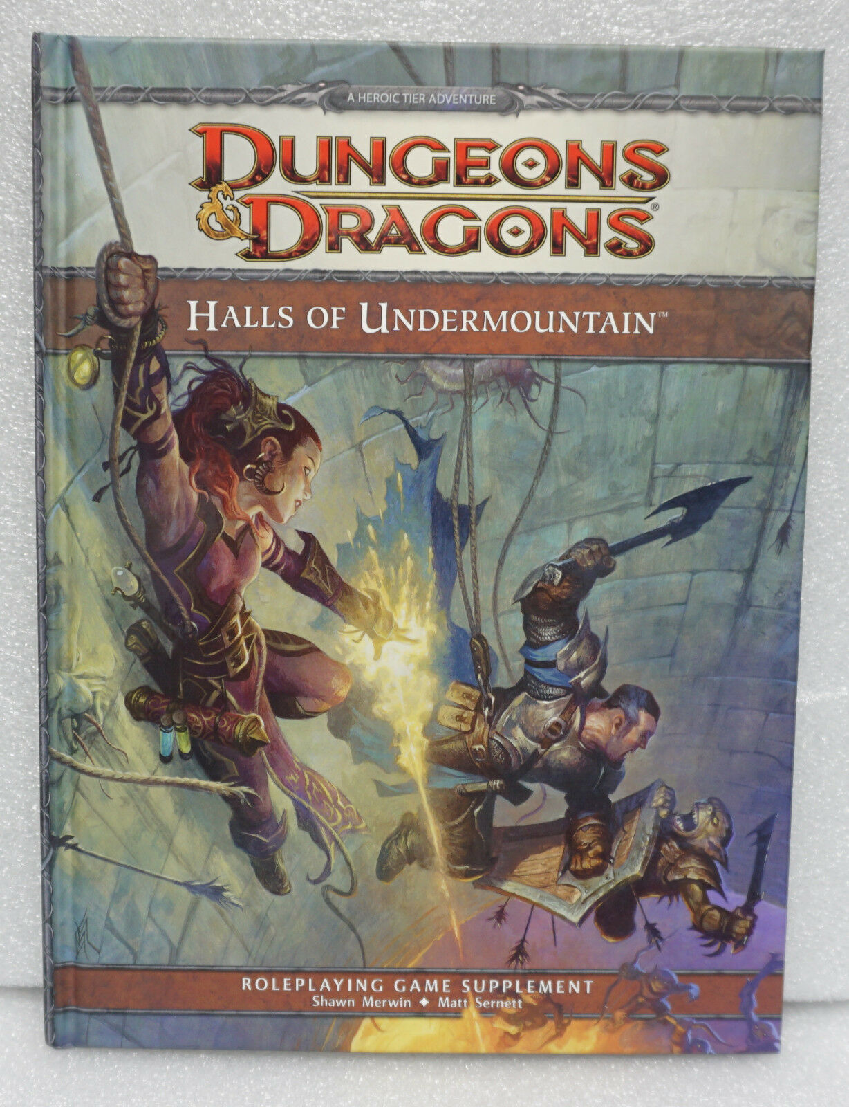 Halls Of Undermountain A 4th Edition Dungeons And Dragons Supplement By Wizards Rpg Team 2012 Hardcover For Sale Online Ebay