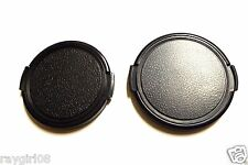 Two(2) 46mm Snap-on Side Pinch Universal Fits Lens Cap Dust Cover Protector