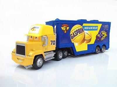 Disney Pixar Cars Customs Made #70 Gasprin Piston Cup Racer's Hauler Truck Toy