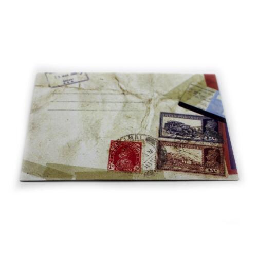 12XSTK Retro Western Design Briefumschlag Mini Umschlag Briefumschläge