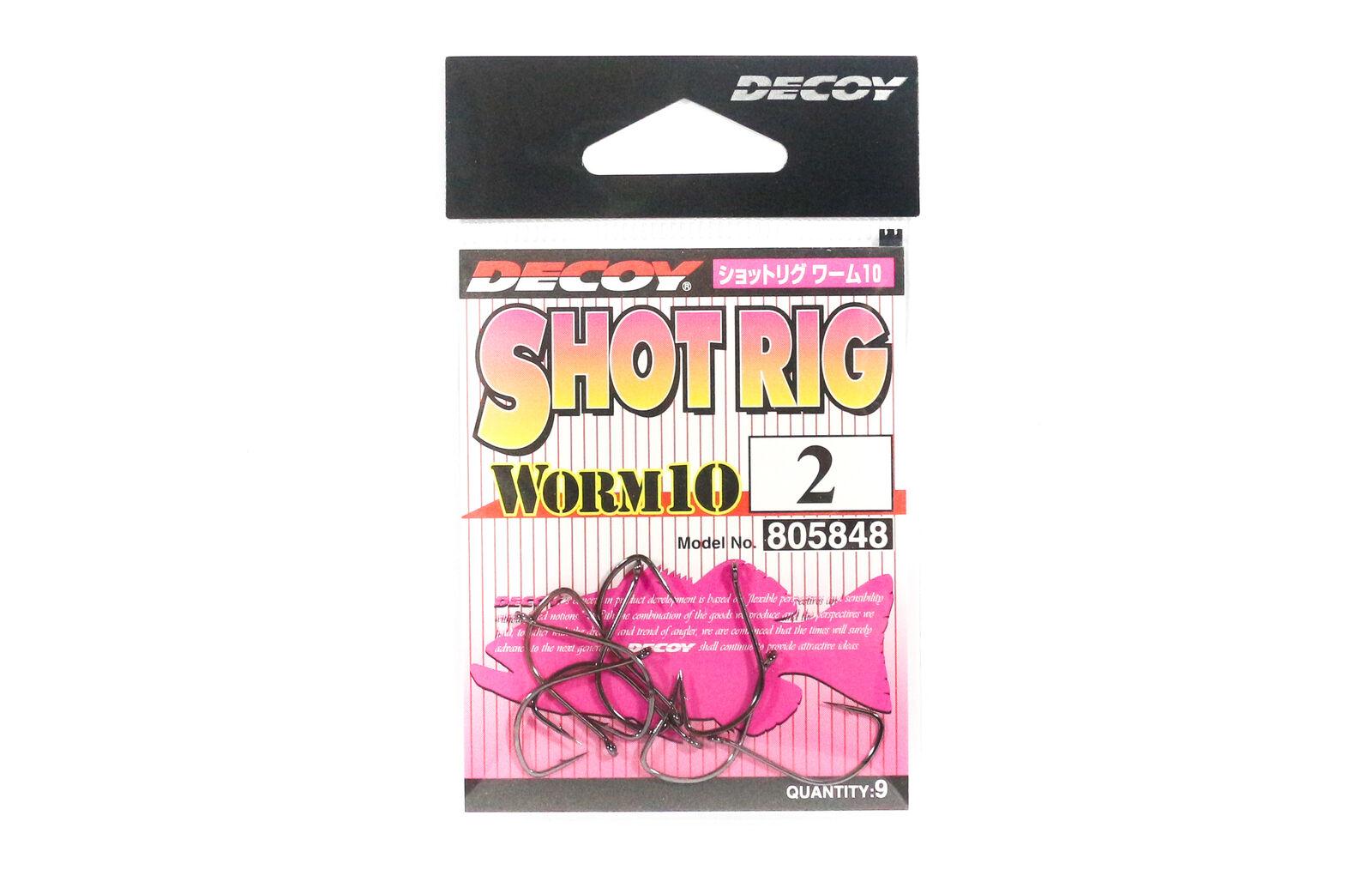 Decoy MG-1 Mini Worm Hook Rock Fish Game Size 6 1764