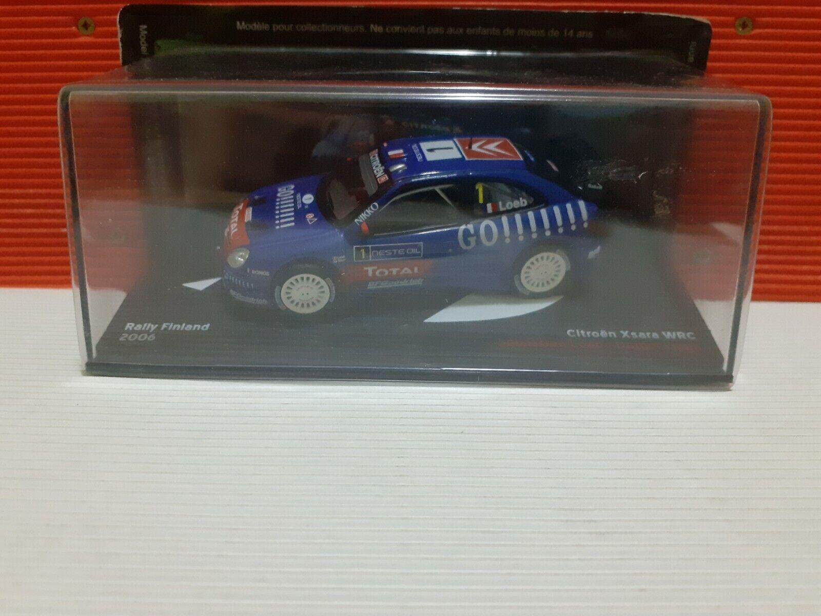"DIE CAST /"" CITROEN XSARA WRC RALLY MEXICO 2004 /"" RALLY DEA SCALA 1//43"