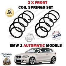 FOR BMW E81 E87 118 120 130 116D 118D 120D 2006-  NEW 2 X FRONT COIL SPRINGS SET