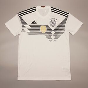 Germany 2018 2019 Home Football Soccer Shirt Jersey Camiseta Kit Adidas BR7843