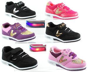 Kinder Leuchtschuhe Licht Sneaker Blinkschuhe LED für jungen und Mädchen Sport .