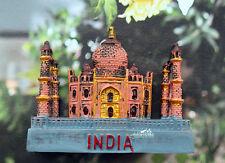 Taj Mahal, Indien Reiseandenken Souvenir 3D Polyresin Kühlschrankmagnet Geschenk