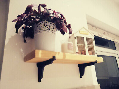 Unique Shelves Made To Order Any Size Scaffold Board Rustic Shelf Ebay