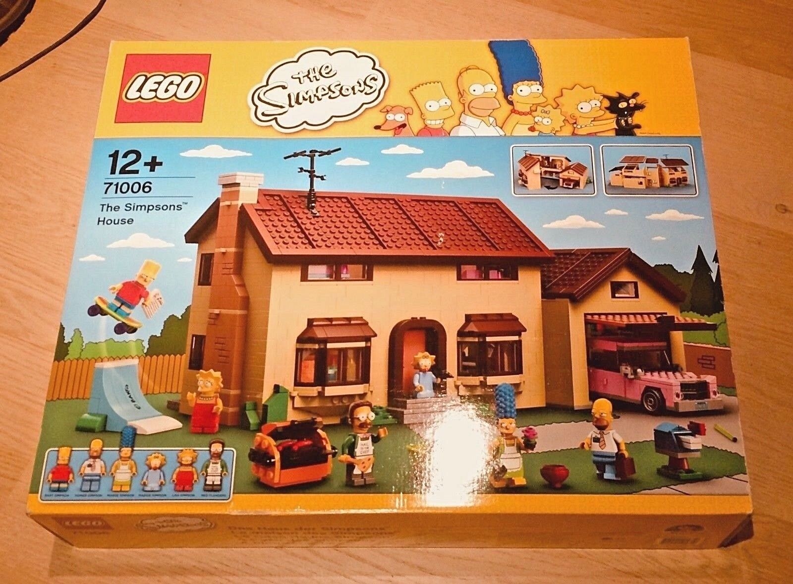 LEGO Simpsons House 71006 -NEUF-NEW- Creator Expert maison omer bart lisa marge