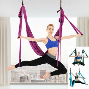 yoga swing hammock trapeze sling aerial silks antigravity