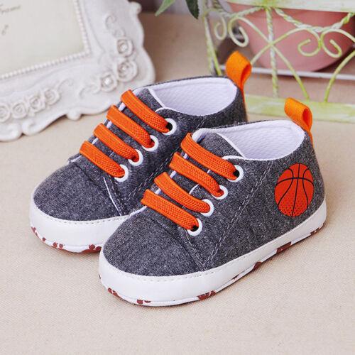 New Newborn Infant Baby Cartoon Girl Boy Solid Soft Prewalker Casual Flats Shoes