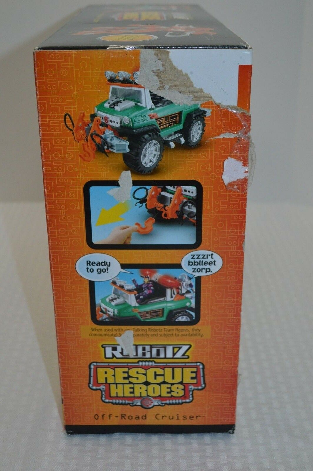 NEW FISHER PRICE RESCUE RESCUE RESCUE HEROES ROBOTZ OFF ROAD JEEP CRUISER & BUMPERBOT C7463 3b98bb