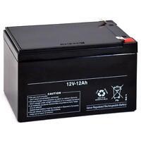 12 Volt 12 Ah Rechargeable Sealed Lead Acid Battery (sla) F2 .250 12v 12ah