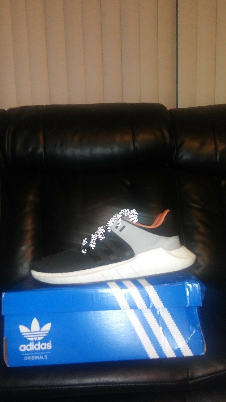Adidas eqt sostegno 93 / 17 saldatura pack neri e sz scarpe bianche cq2396 Uomo sz e 9,5 fc4a82